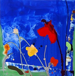 SQUARE BLUE by Daniel Phill
