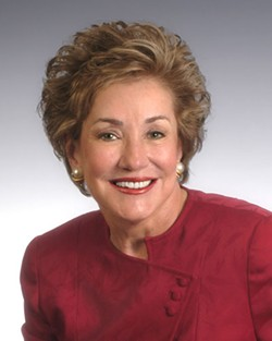 STATE TREKKER: Sen. Elizabeth Dole