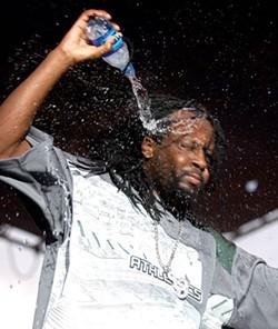 JASON BRAVERMAN - STAY HYDRATED: Drink plenty of water like Wyclef Jean.