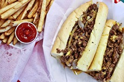 ASHLEY GOODWIN - STEAKING THEIR CLAIM: A Taste of Philly offers authentic cheesesteaks.
