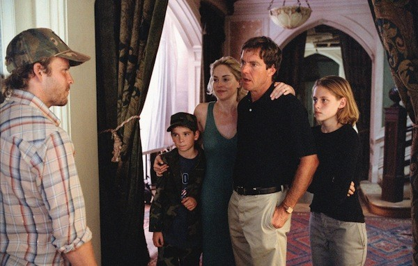 Stephen Dorff, Ryan Wilson, Sharon Stone, Dennis Quaid and — yes — Kristen Stewart in Cold Creek Manor (Photo: Disney)