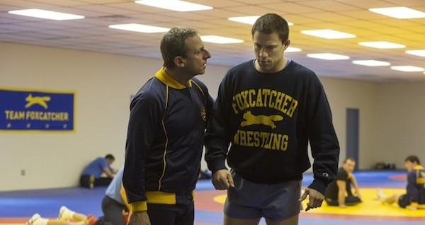 Steve Carell and Channing Tatum in Foxcatcher (Photo: Sony Pictures Classics)
