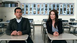 WARNER BROS. - Steve Carell and Julianne Moore in Crazy, Stupid, Love.