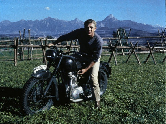 Steve McQueen in The Great Escape (Photo: Fox & MGM)
