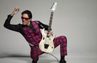 Steve Vai at the Fillmore tonight (8/20/2012)