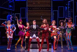 MATTHEW MURPHY - Steven Booth as Charlie Price (center) in Kinky Boots