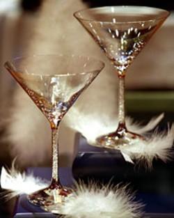 RADOK - Steven Weinberg-designed lead crystal cocktail - glasses from Swarovski