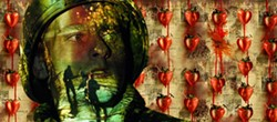 SONY PICTURES - STRAWBERRY KILLING FIELDS FOREVER: Max (Joe Anderson) sees red after he's sent to Vietnam in Across the Universe