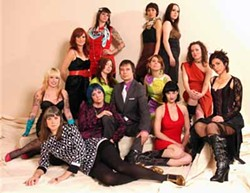 SHANE CUDAHY - STUCK IN THE MIDDLE: Bruce Hazel and numerous ladies of the Charlotte music scene