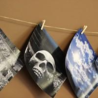 Student artwork on display at Behailu.