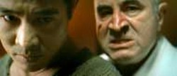 ROGUE PICTURES - SUFFER A JET Jet Li (left) endures horrific treatment by - owner Bob Hoskins in Unleashed