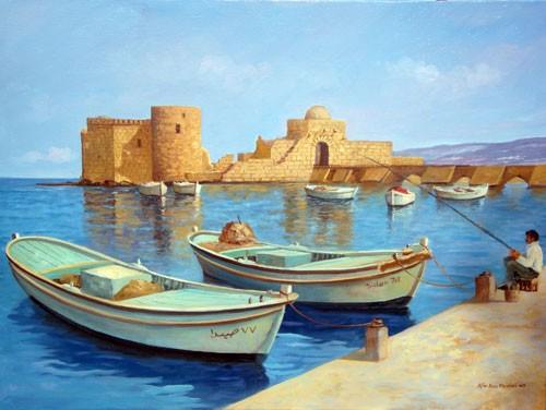 """""""Summer in Sidon"""" by Elie Bou Zeidan"""