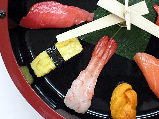 sushi-clock