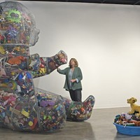 <em>Sustain Me Baby</em>, among this week's art openings in the Q.C.