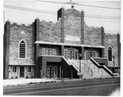 ROBINSON-SPANGLER CAROLINA ROOM, PLCMC - Sweet Daddy Grace's House of Prayer  was razed in - 1970