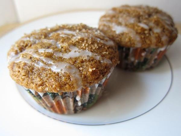 sweetpotato muffin