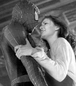 MATT BRUNSON - SWINGERS Kirsten Dunst and Tobey - Maguire in Spider-Man