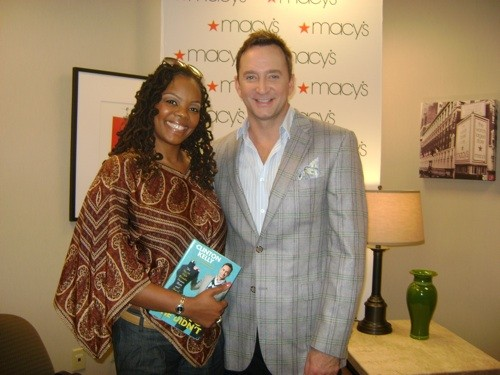 T. Strong (left) with Clinton Kelly