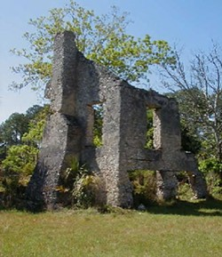 COURTESY OF SOUTHEAST ADVENTURE OUTFITTERS - Tabby Ruins at Sapelo Island