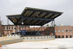 JEFF HAHNE - TAKE IT OUTSIDE: The Uptown Amphitheatre at the N.C. Music Factory is scheduled to open on June 13.