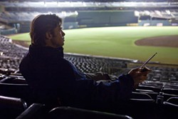 MELINDA SUE GORDON / COLUMBIA - TAKING THE STANDS: Brad Pitt in Moneyball