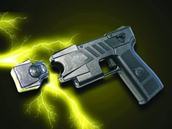 PHOTOS.COM - TASERED: Conducted energy weapons have become popular as a (usually) non-lethal police tool.