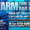 Teal and purple, teal and purple: Swarm Time Warner bar crawl