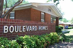 ASHLEY GOODWIN - TEAR DOWN: The Charlotte Housing Authority wants to redevelop Boulevard Homes.