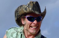 Ted Nugent at the Verizon Wireless Amphitheatre tonight (5/17/2012)