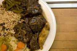CATALINA KULCZAR-MARIN - TELLING TAILS: Oxtail stew from Austin's Caribbean Cuisine