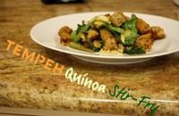 Recipe: Tempeh Qunioa Stir-Fry
