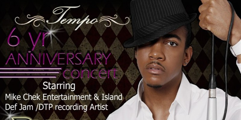 Tempo Nightclub six year anniversary event flier