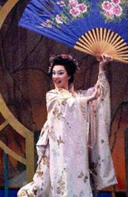 JIM SCHMID - Teresa Winner Blume as Yum Yum in Opera - Carolina's The Mikado