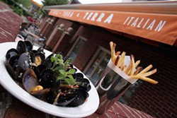 CATALINA KULCZAR - TERRA-IFIC: Mussels and fries