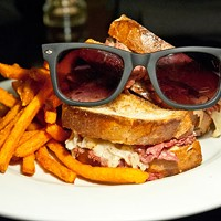 THAT'S AN ORDER: The Red Rocks' reuben is named for Rizzoli & Isles star Angie Harmon.