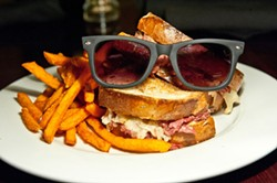 JUSTIN DRISCOLL - THAT'S AN ORDER: The Red Rocks' reuben is named for Rizzoli & Isles star Angie Harmon.