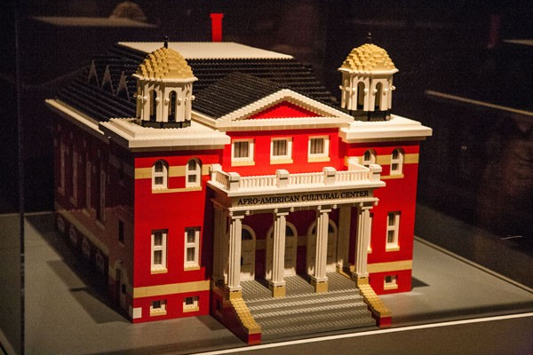 The Afro-American Culture Center was formed in Charlotte in 1974 and moved to its second location at Spirit Square in 1976. Shown above is a Lego replica of that location.  - JOE MARTIN
