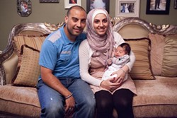 ADAM ROSE/TLC - The Aoude family from TLC's All-American Muslim