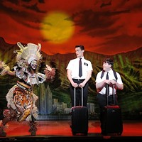 The Book of Mormon: Assume the missionary position