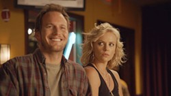 PARAMOUNT - THE BUDDY SYSTEM: Through shady means, Mavis (Charlize Theron) tries to rekindle her high school romance with Buddy (Patrick Wilson) in Young Adult.