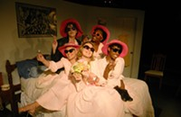 Theater review: <i>Five Women Wearing the same Dress </i>