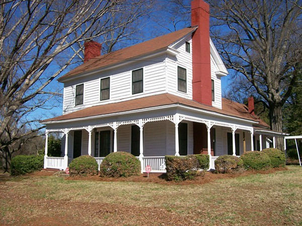 The Charlotte Mecklenburg Historic Landmarks Commission has acquired an option on the historic Richard Wearn House.