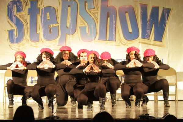 The CIAA 2014 Step Show Throwdown; Greeks vs. Greeks took place at Grady Cole Center, Feb. 28.