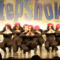The CIAA 2014 Step Show Throwdown; Greeks vs. Greeks took place at Grady Cole Center, Feb. 28.