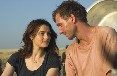 THE CONSTANT GARDENER Rachel Weisz and Ralph Fiennes (Photo: Focus Features)