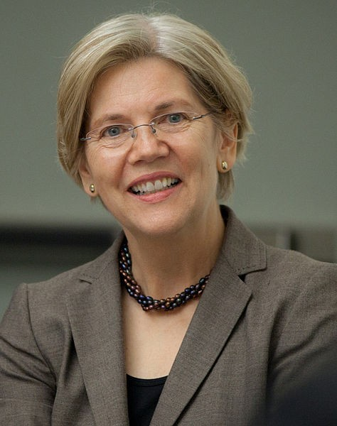 The dark horse herself, Elizabeth Warren
