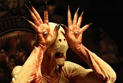 TERESA ISASI / PICTUREHOUSE - THE EYES HAVE IT The Pale Man (Doug Jones) lets his fingers do the stalking in Pan's Labyrinth