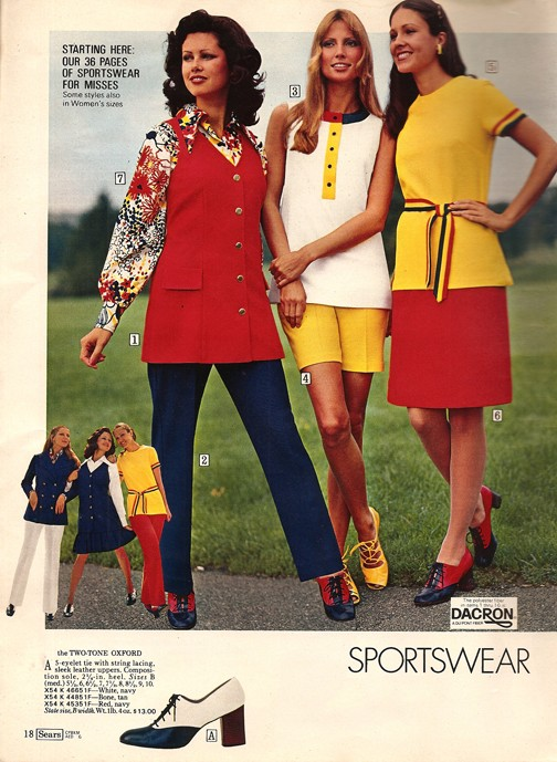The Fashions Of 1972 Klepto Blog