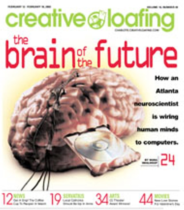 The Father Of Cyborgs Cover Creative Loafing Charlotte