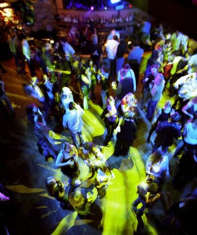 The Forum's dance floor. - RADOK
